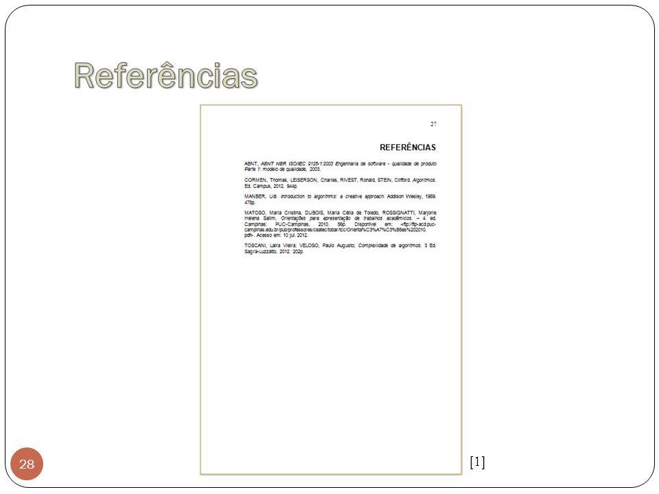 Referências [1]